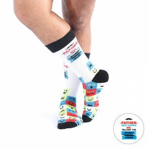 Father - Best Known For Telling The Worst Joke - Wise Men Socks - 1