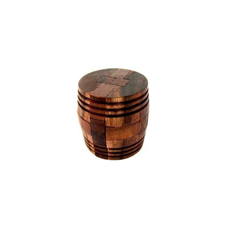Wine Barrel  Wooden Puzzle