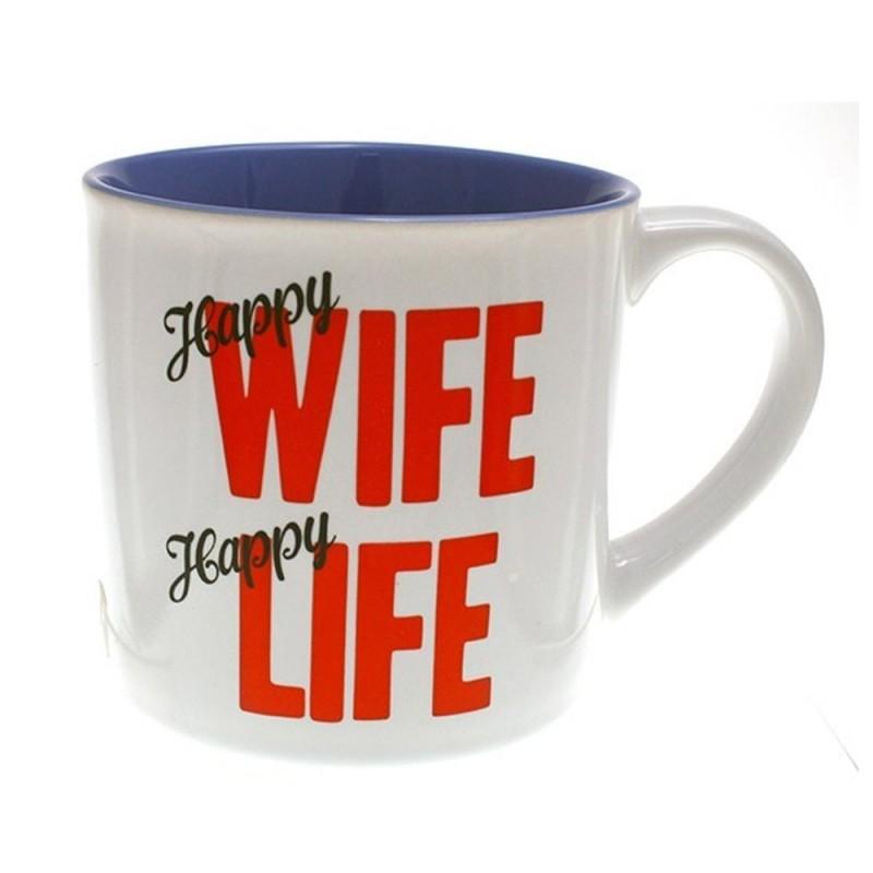 Happy Wife Happy Life Coffee Mug