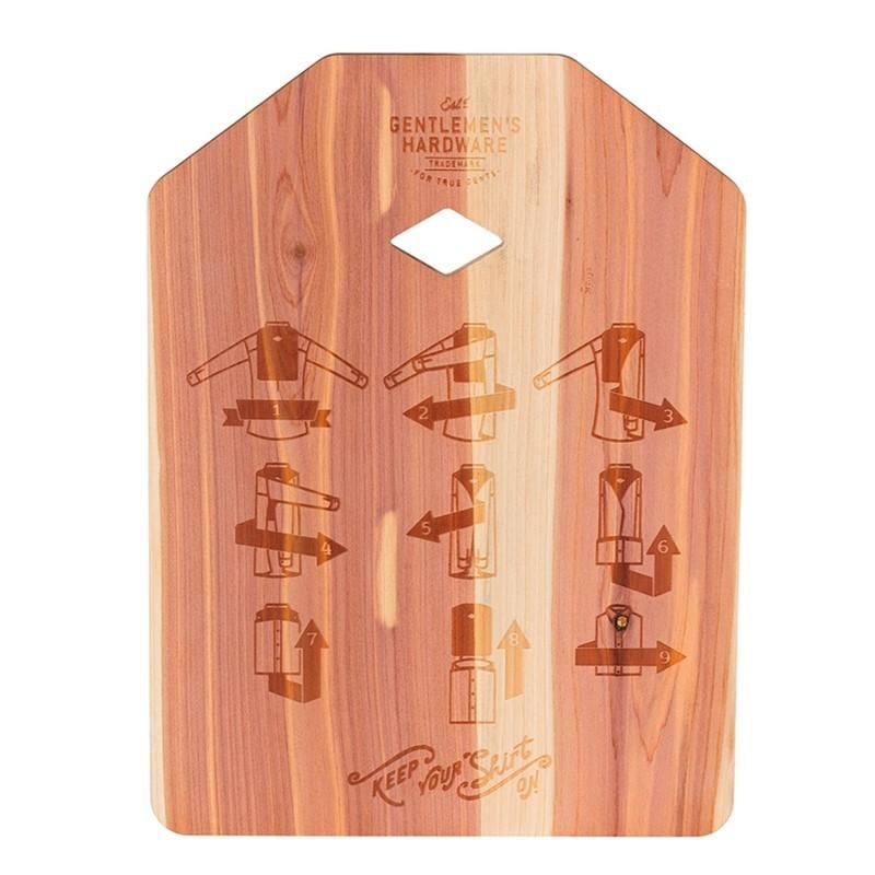 Shirt Folding Board - High Quality Solid Cedar Wood