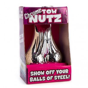 Chrome Plated Tow Nutz - Tow Bar Nuts