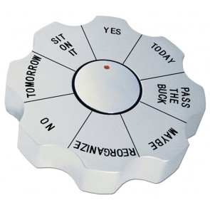 Spinning Decision Maker Paperweight
