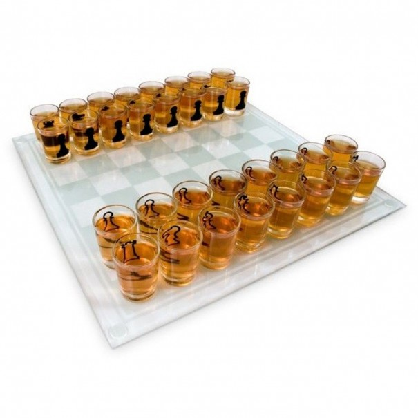 Chess Set Drinking Game