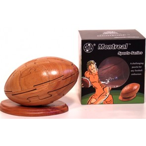 Football / Rugby - Wooden Puzzle