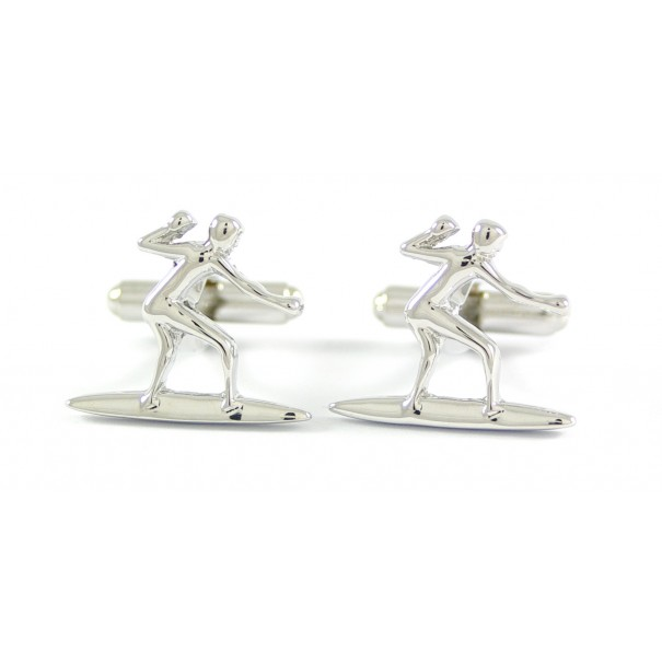 Surfing Cufflinks with Box