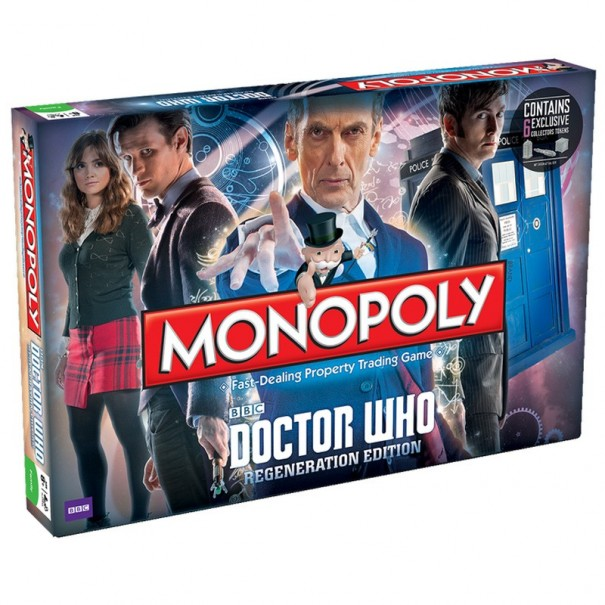 Monopoly - Doctor Who Regeneration Edition