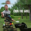 The Grill Sergeant Apron with Built In Bottle Opener
