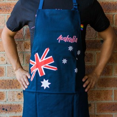 Australian Flag Apron