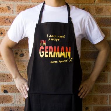 I Don't Need A Recipe I'm German Apron
