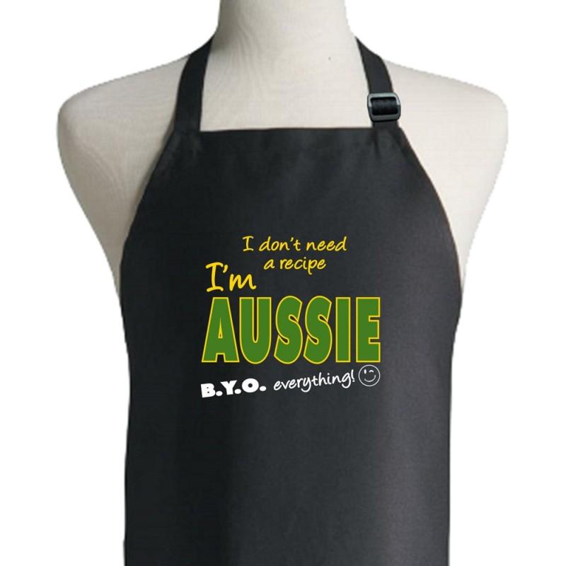 I Don't Need A Recipe I'm Aussie Apron