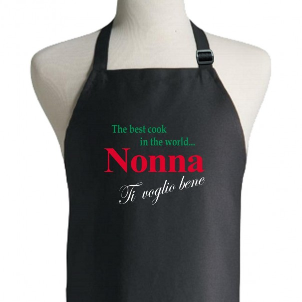 The Best Cook In The World Apron - Nonna (Italian)