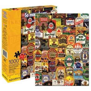 Beers Collage 1000pc Jigsaw Puzzle