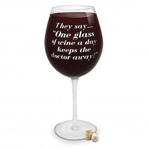 The World's Largest Wine Glass
