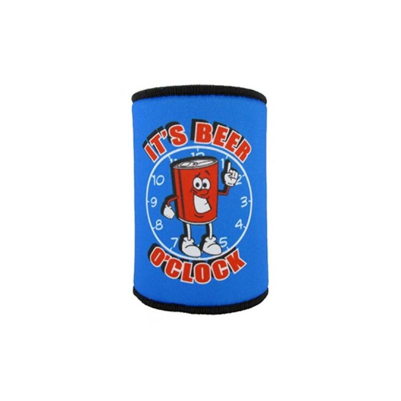 It's Beer O'Clock Stubby Holder