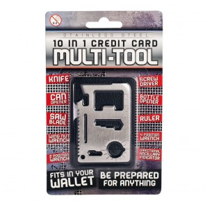 10-in-1 Credit Card Multi-Tool