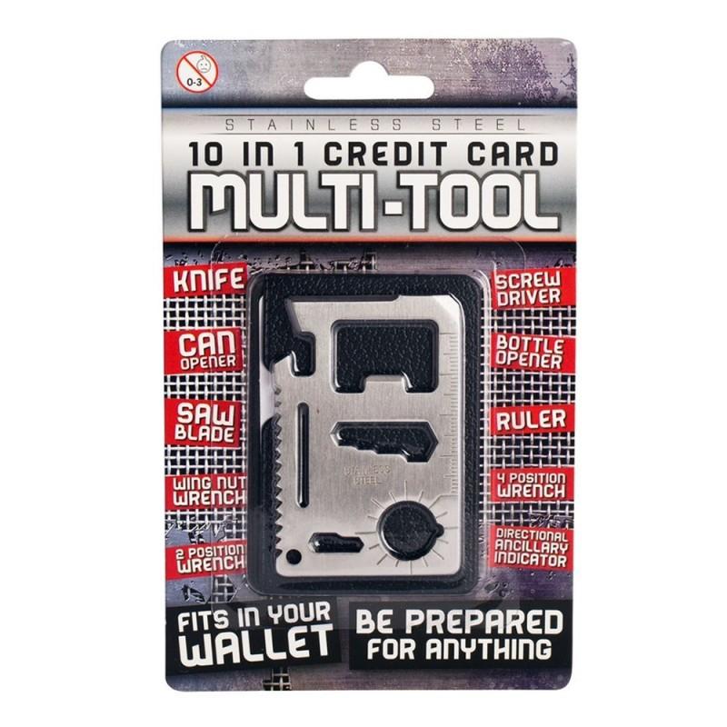 10-in-1 Credit Card Multi-Tool