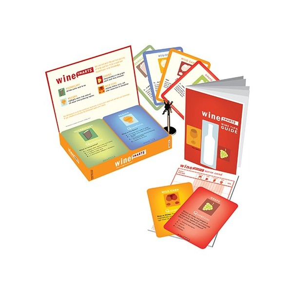 Wine Smarts 2.0 Cards Game