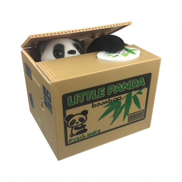 Coin Stealing Panda Money Bank