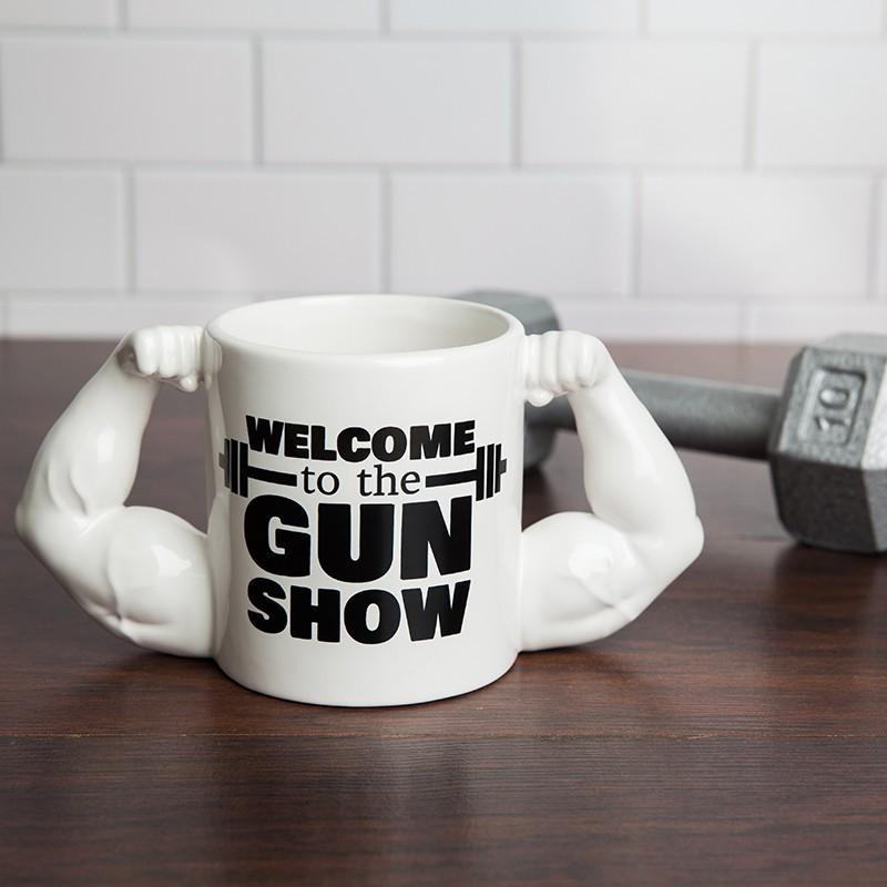 Welcome to the Gun Show Mug