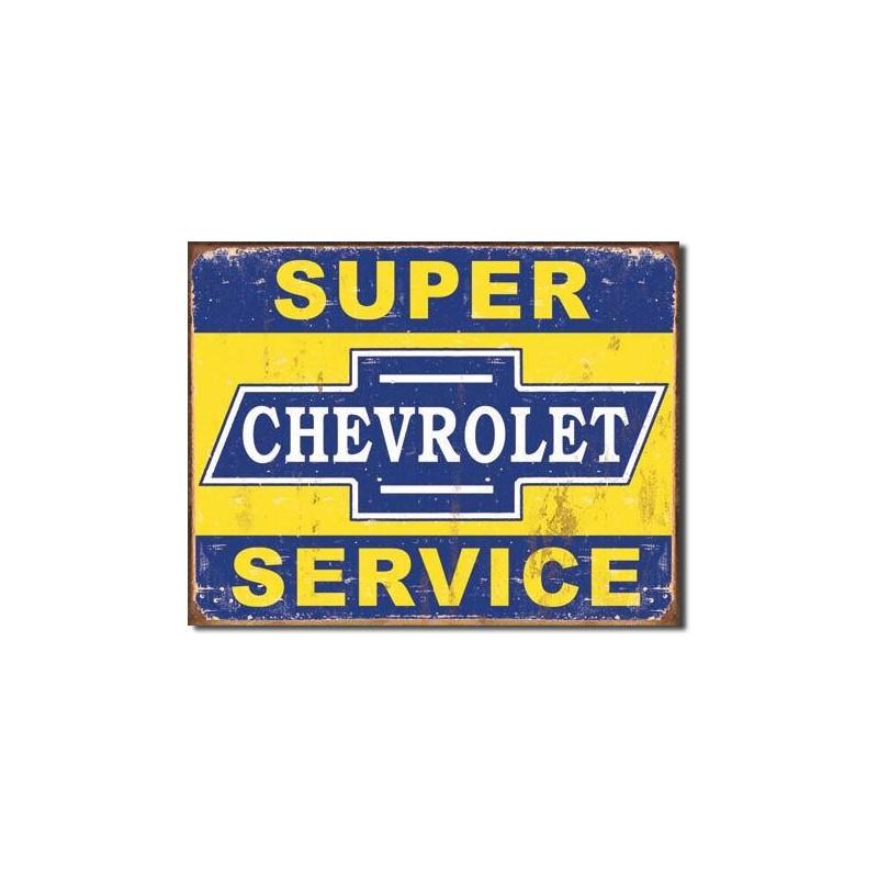 Chevrolet Garage Metal Sign