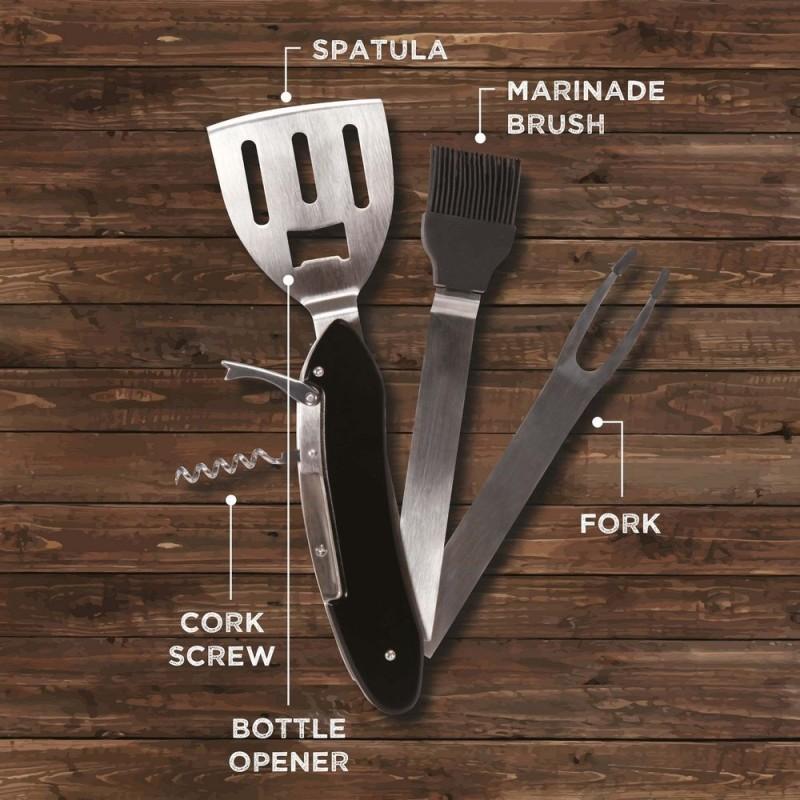 5-in-1 BBQ Tool Kit