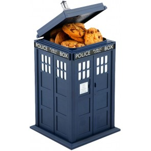 Doctor Who - TARDIS Cookie Jar with Light and Sound Effect