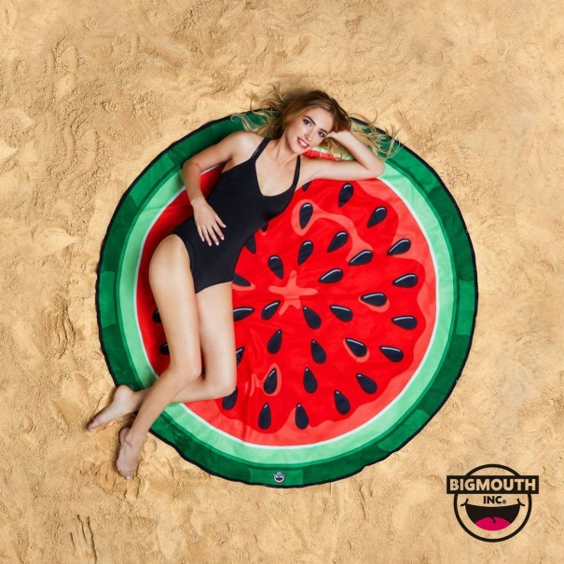 Gigantic Watermelon Beach Towel