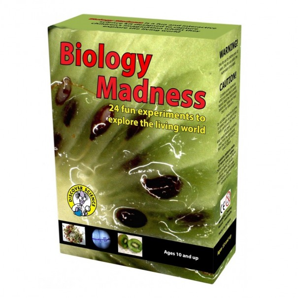 Biology Madness: 24 Experiments