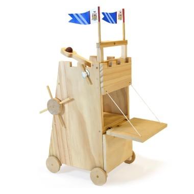 Medieval Siege Tower Wooden Kit by Pathfinders