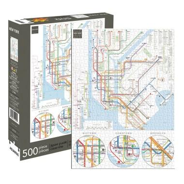New York Subway 500pc Jigsaw Puzzle