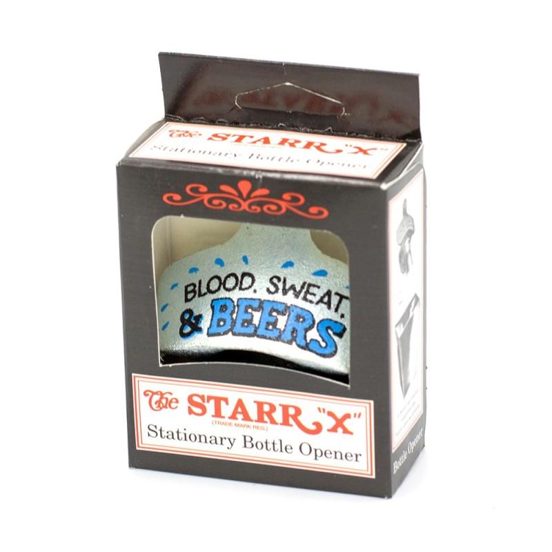 Blood, Sweat & Beers Wall Mounted Bottle Opener