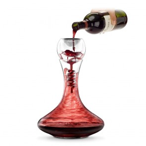 Twister Decanter and Glass Aerator By Final Touch