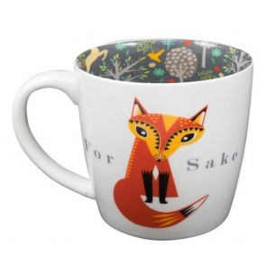 For Fox Sake Inside Out Mug