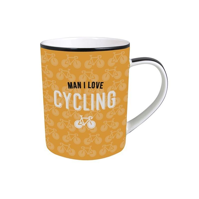 Man I Love Cycling Mug