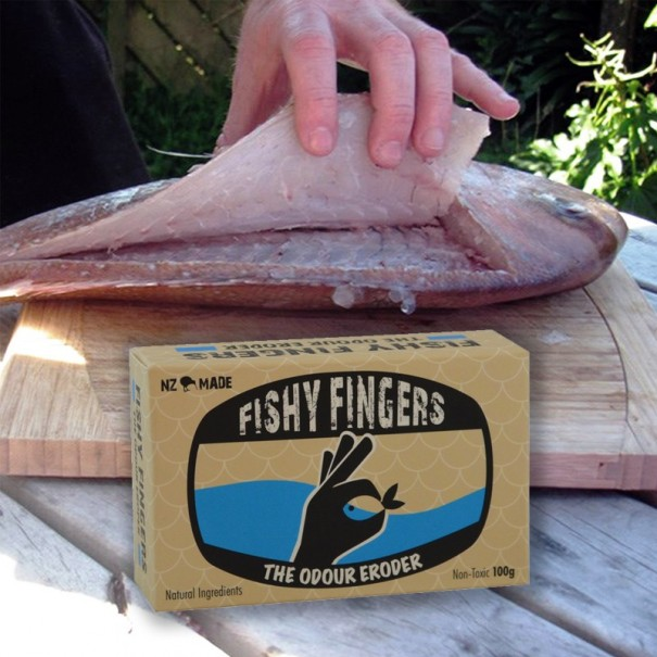 Fishy Fingers - The Ultimate Fishing Soap