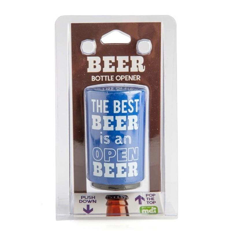 Open Beer Push Down Bottle Opener