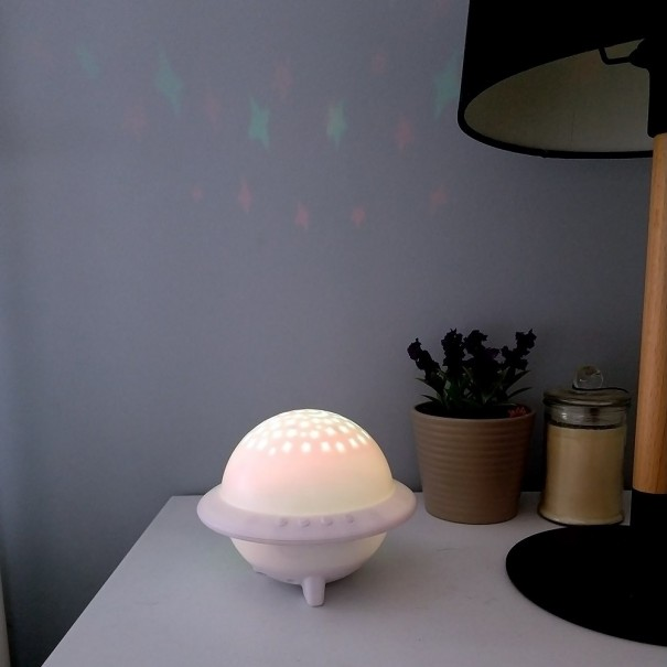 UFO Stars and Moon Projector