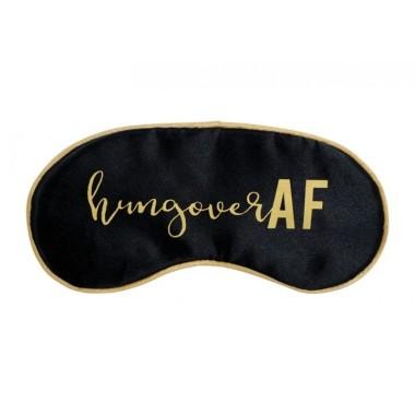 Travel Eye Mask - Hungover AF