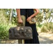 Phileas Genuine Leather Duffle Luggage Bag by Indepal Leather