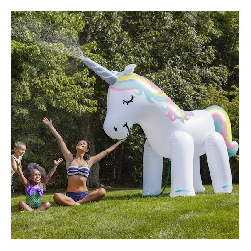 Ginormous Inflatable Unicorn Yard Sprinkler