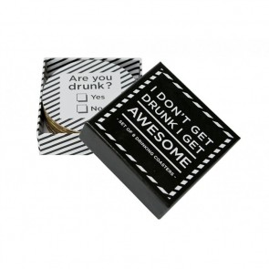 Drinks Makes Everything Better - Set of 8 Coasters