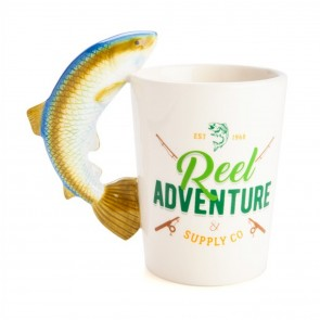 Reel Adventure Fishing Mug