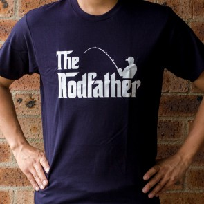 The Rodfather Fishing T-Shirt