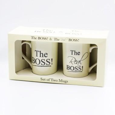 The Boss & The Real Boss Pair Mug