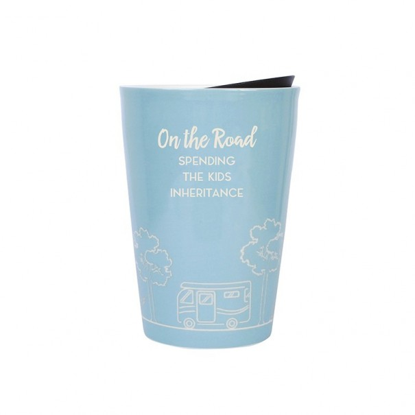 Retired - On The Road Travel Mug