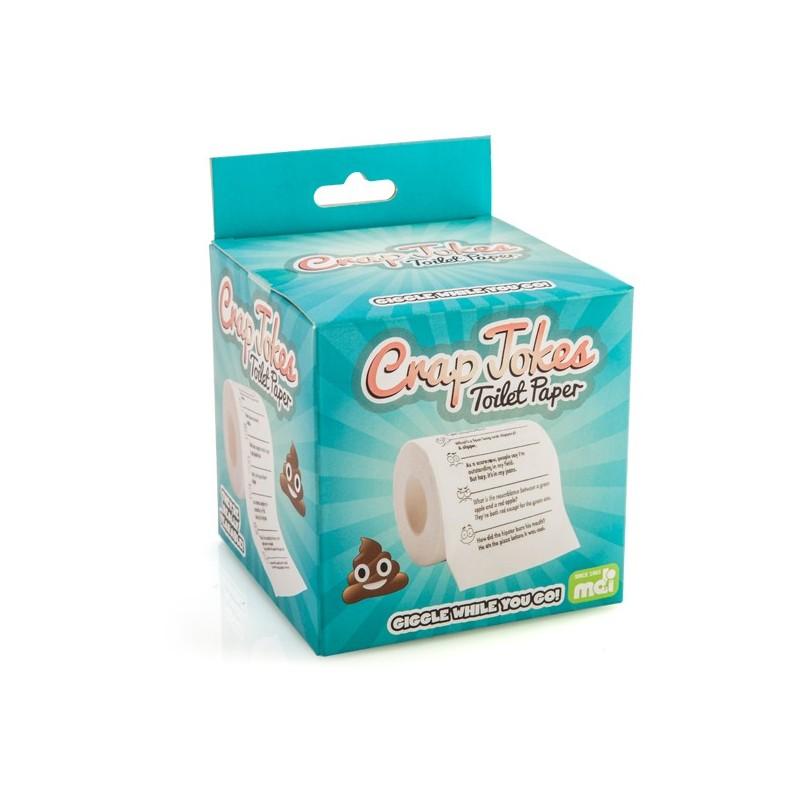 Crap Jokes Toilet Roll
