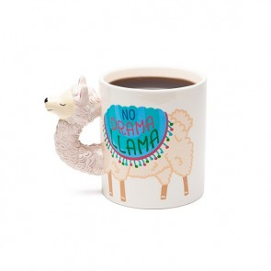 The Giant No Drama Llama Coffee Mug