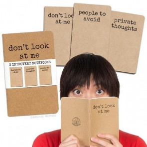 Introvert Notebooks – Set Of 3