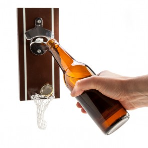 Magnetic Beer Basket Bottle Opener - 2
