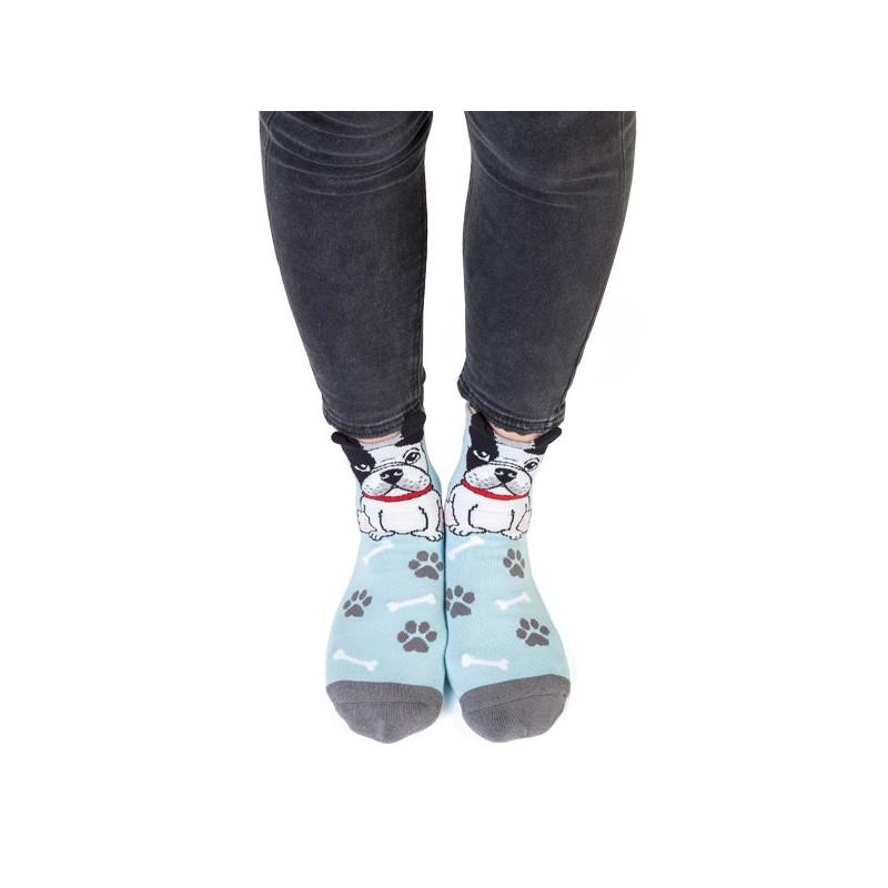 French Bulldog Ruff Day Socks - 2